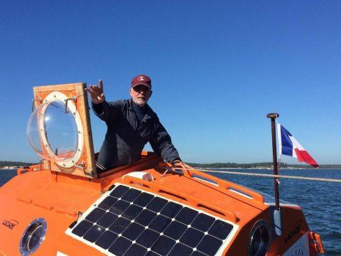 Egy hordóban szeretne átkelni az Atlanti-óceánon egy francia férfi