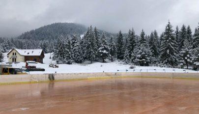 Készen áll a korcsolyapálya