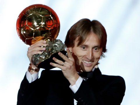 Luka Modric kapta az Aranylabdát
