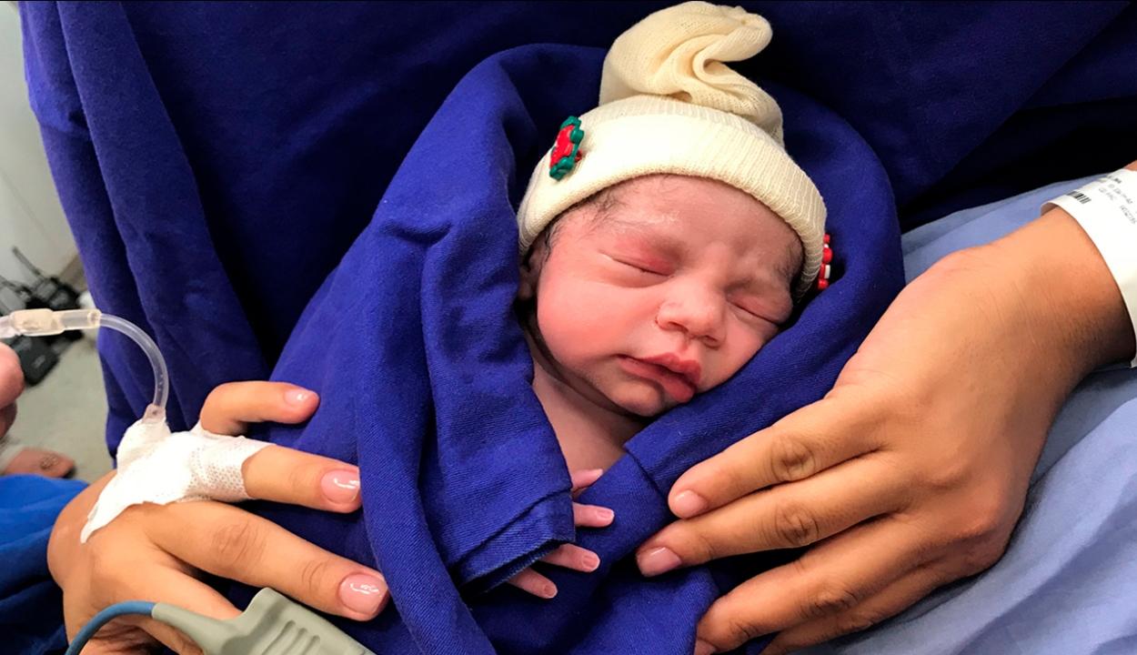 Halott donor méhével született gyereke egy nőnek