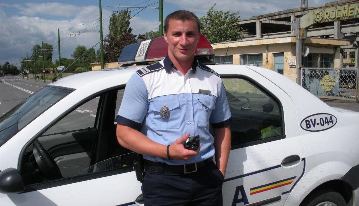 Kovászna megyében vették el a legnépszerűbb román rendőr jogosítványát