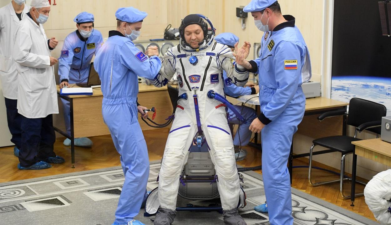 Nem kap újévi ajándékot a Nemzetközi Űrállomás űrhajósa