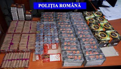 20 kilónyi pirotechnikai eszközt koboztak el a Kovászna megyei rendőrök