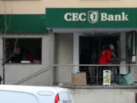 FRISSÍTVE: Robbantással próbáltak meg kirabolni egy bankautomatát Brassóban