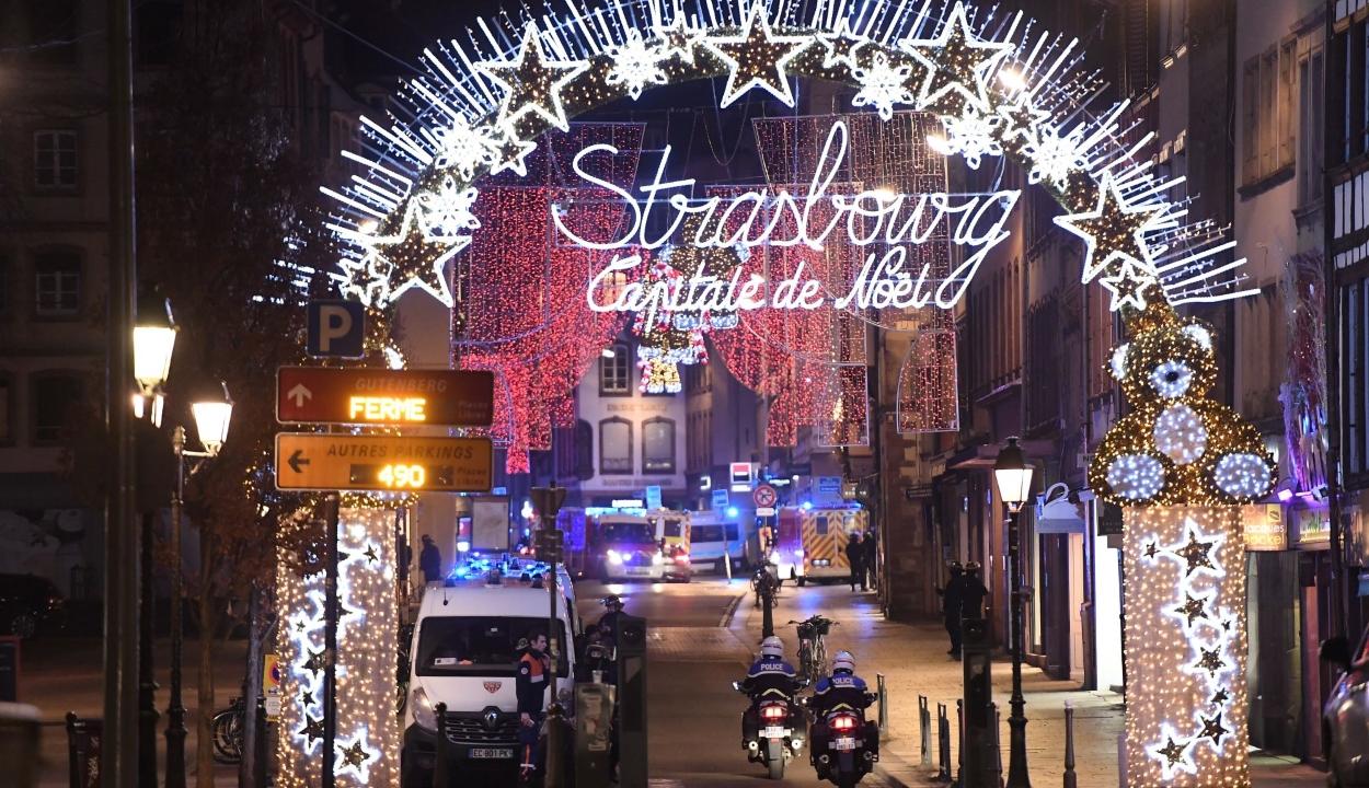 Terrortámadás történt Strasbourg központjában, többen meghaltak