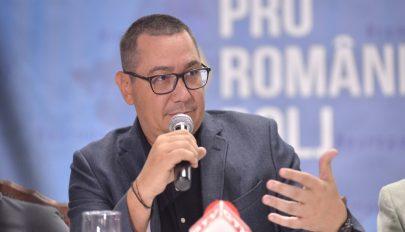Ponta azt mondja, emigrál, ha Liviu Dragnea megnyeri az elnökválasztást