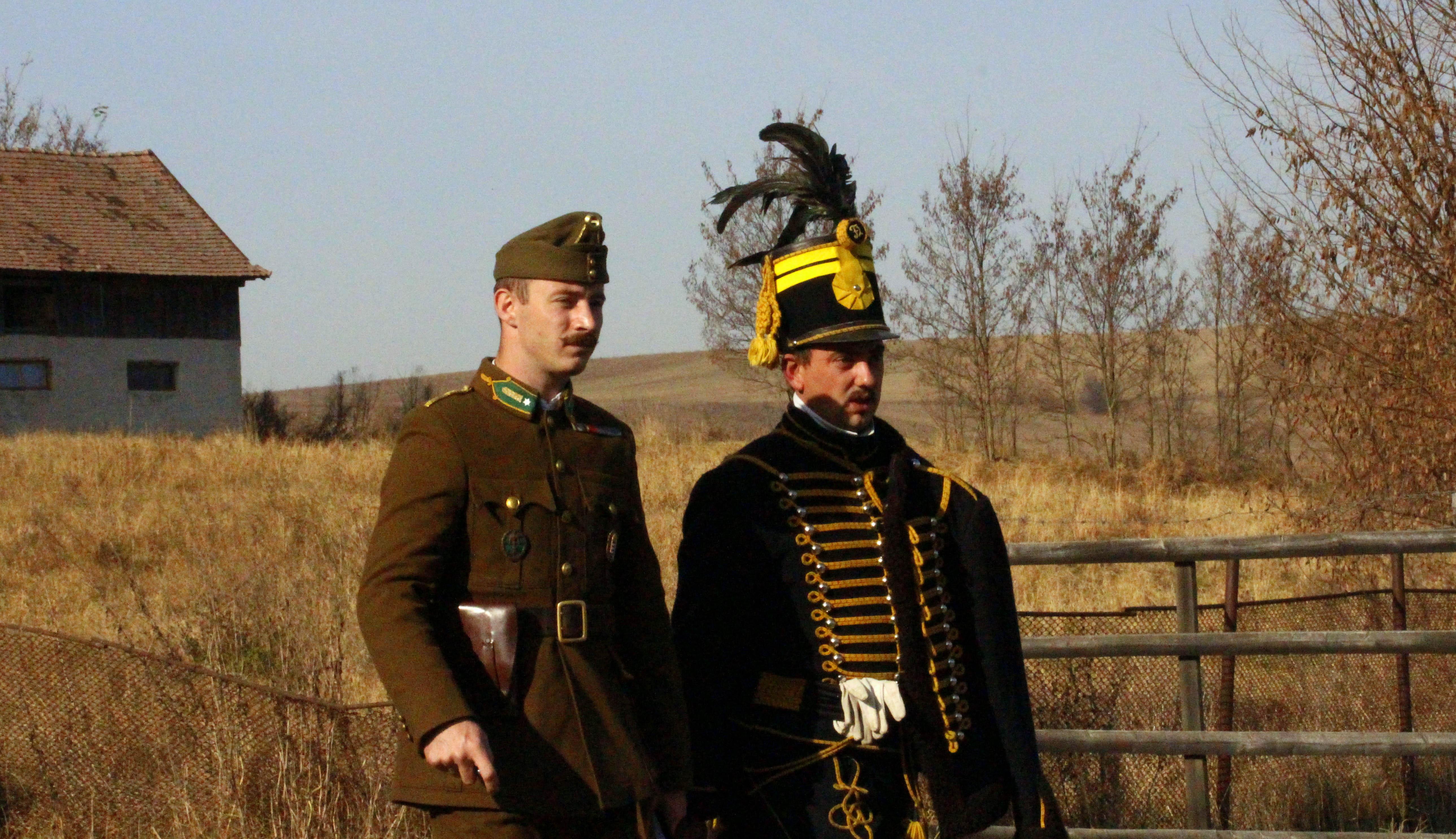 Hazatérnek a hős német katonák