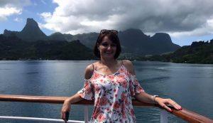 Tahiti környéke gyönyörű vidék, de azért a mi szülőföldünk szebb nála