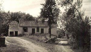 Az egykori Árpád-fürdő Kovásznán (1942)