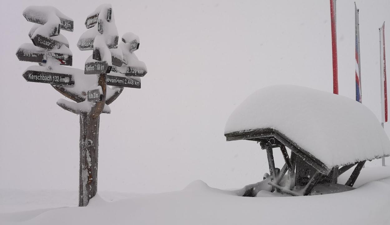Ausztria: több halálos áldozata van a havazásnak, a hadsereget is bevetették