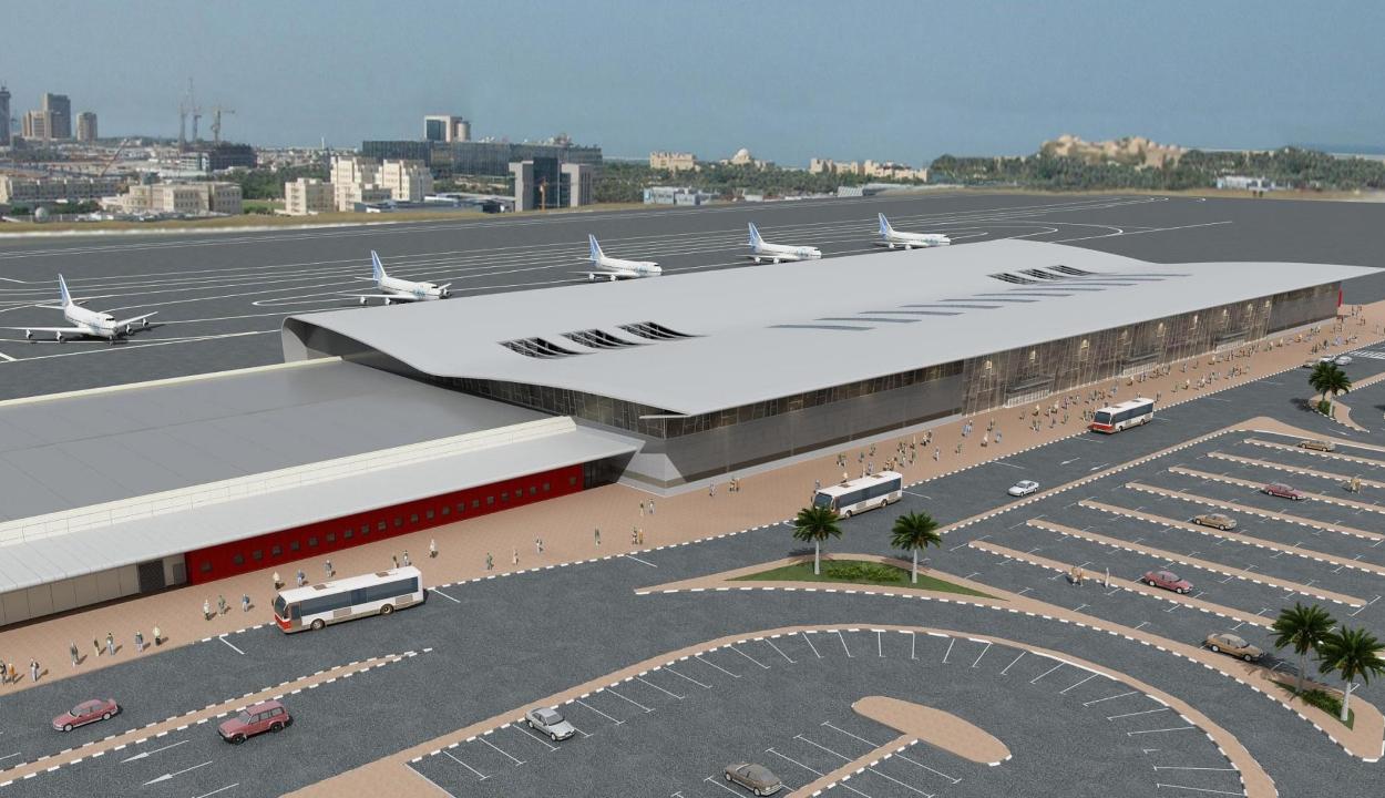 Indítják a vidombáki reptér harmadik építési szakaszát