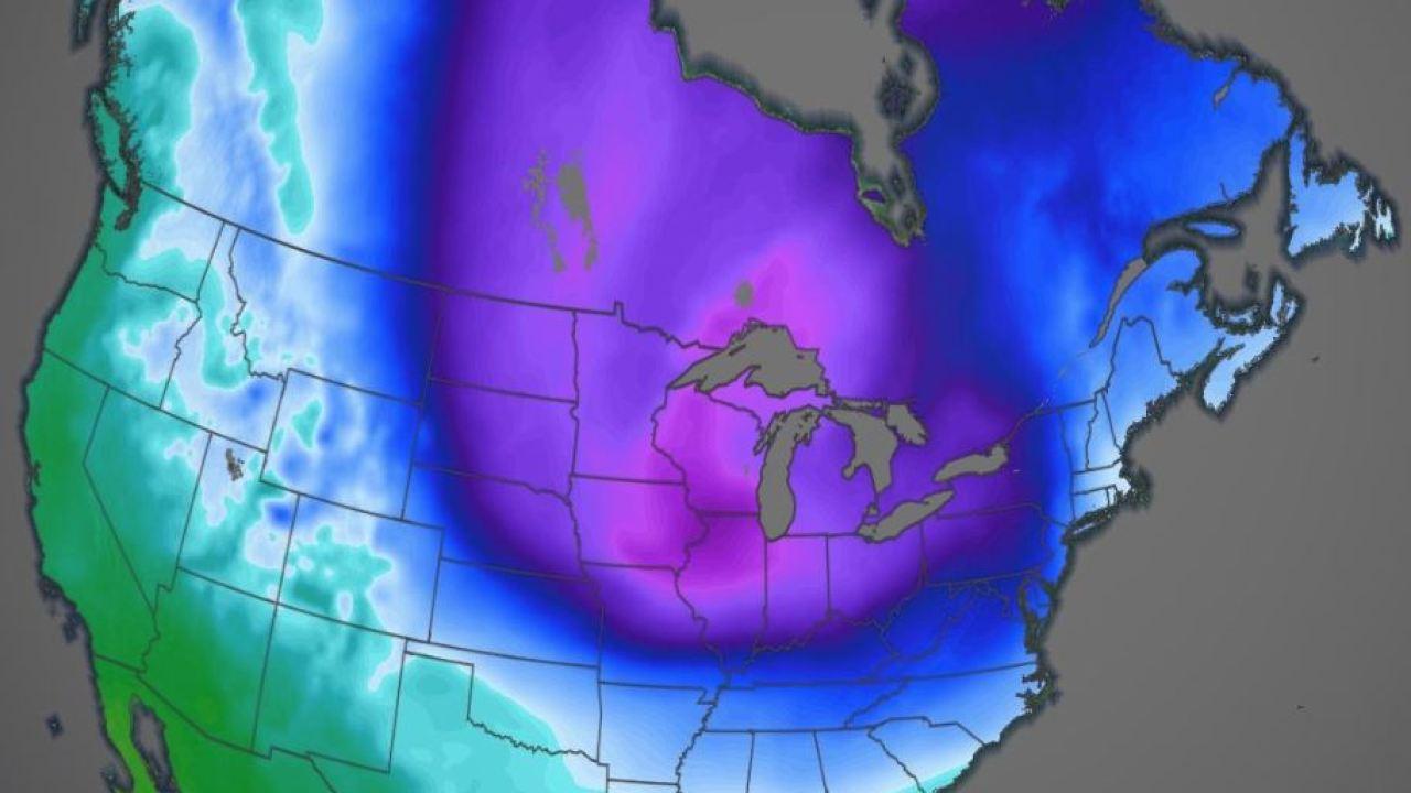 Sarkvidéki hideg tört az Egyesült Államokra, néhol mínusz 40 Celsius-fok hideg van