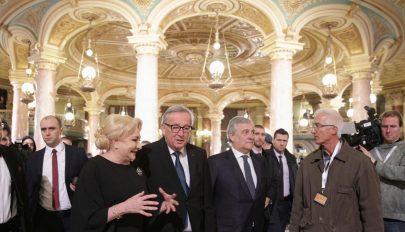 Az európai alapértékek védelmére bíztatták Romániát az unió vezető tisztségviselői