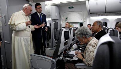 Ferenc pápa szerint a szexualitás Isten ajándéka, nem szörnyeteg