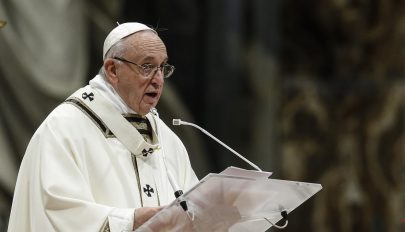 A papi pedofília elleni egyházi fellépésről is szólt újévi beszédében Ferenc pápa