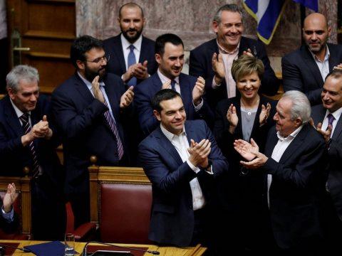 A görög parlament is elfogadta Macedónia új nevét
