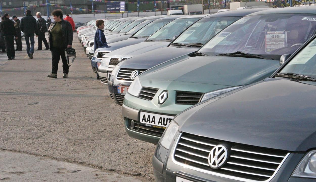 A Romániában közlekedő autók közel fele 15 évnél régebbi