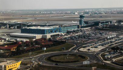 Egyre nő a bukaresti repülőtér utasforgalma