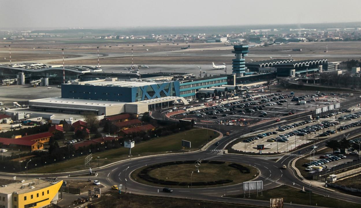A harmadára csökkent a bukaresti Henri Coandă nemzetközi repülőtér utasforgalma