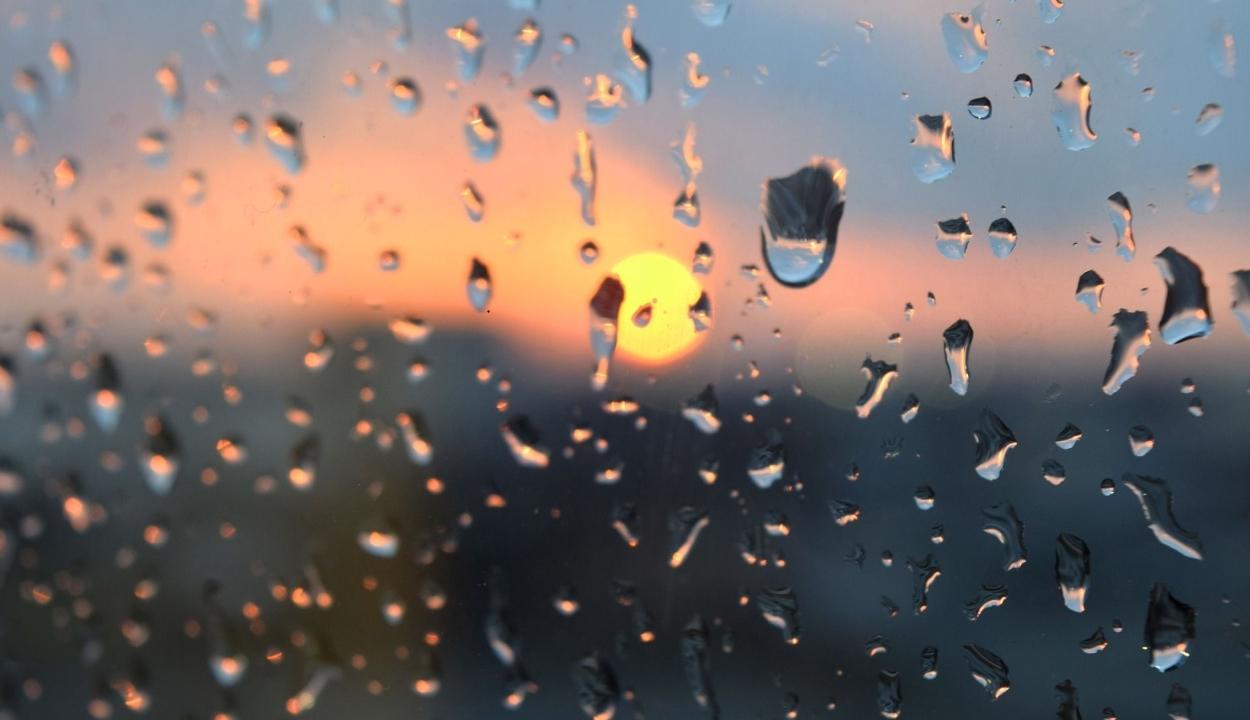 Csütörtök délutántól péntek reggelig országszerte lehet esőre számítani