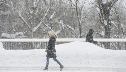 Újabb sárga riasztást adtak ki a várható havazás és hóviharok miatt