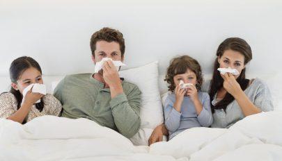 Csaknem tíz százalékkal több a légúti fertőzések száma, mint tavaly