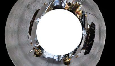 Felvételeket küldött a Hold nem látható oldaláról a kínai űrszonda