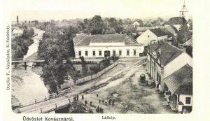 Kovászna látképe 1906-ból