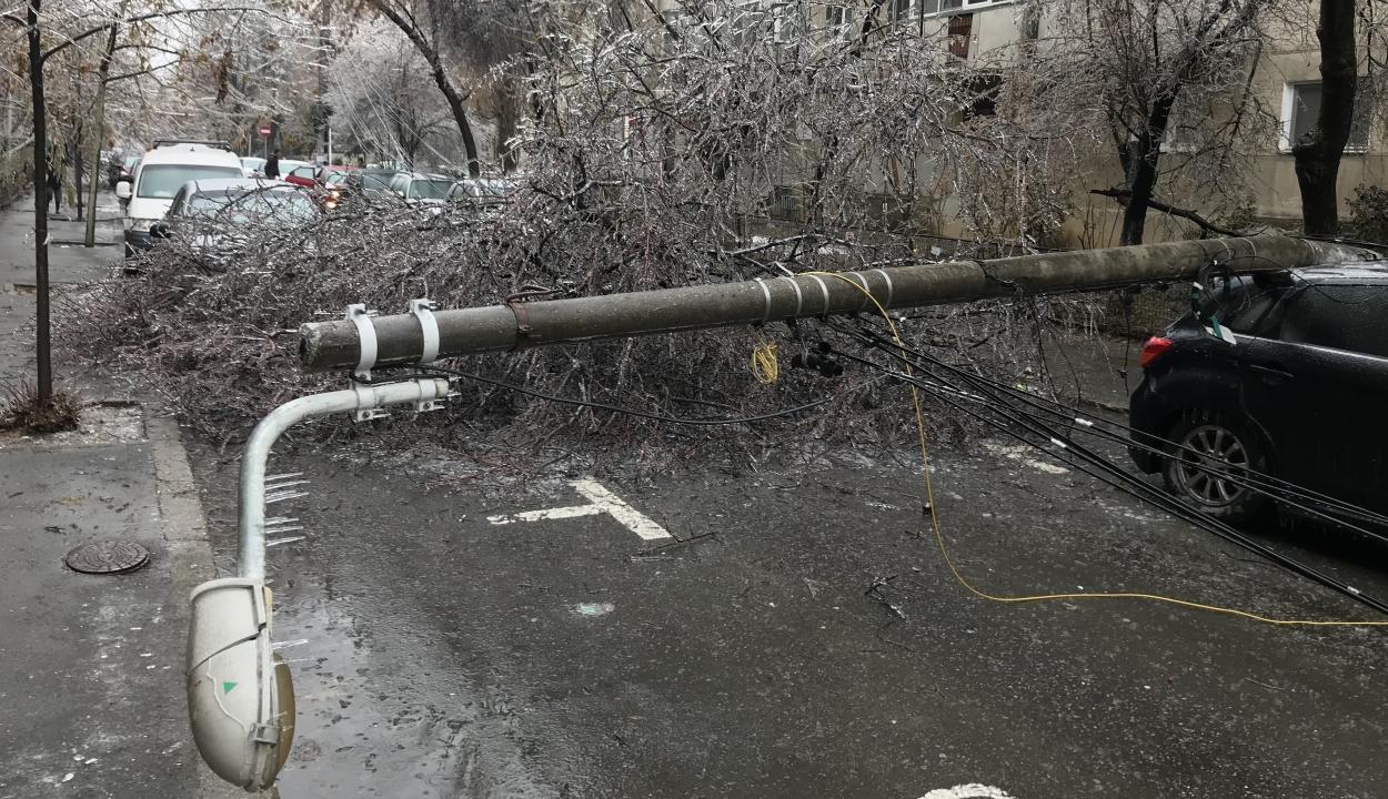 Jelentős károkat okozott az utóbbi három nap rossz időjárása