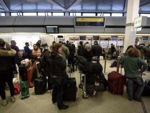 Több száz járatot töröltek Németországban a repülőtéri sztrájkok miatt