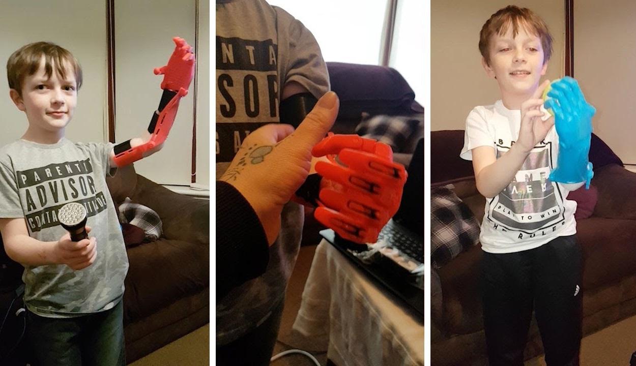 Robotkart épített az apa a 11 éves fiának