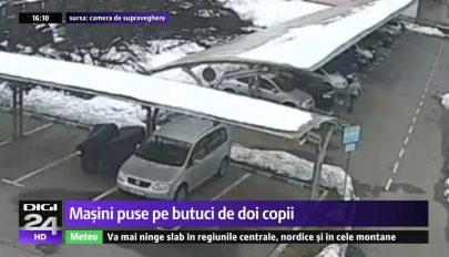 Több mint 40 autó kerekét vágta ki két suhanc