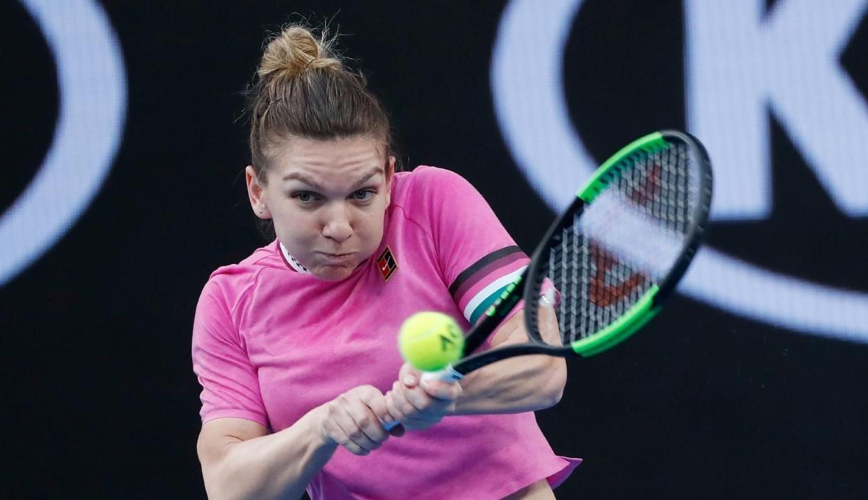 Simona Halep bejutott az Australian Open második fordulójába
