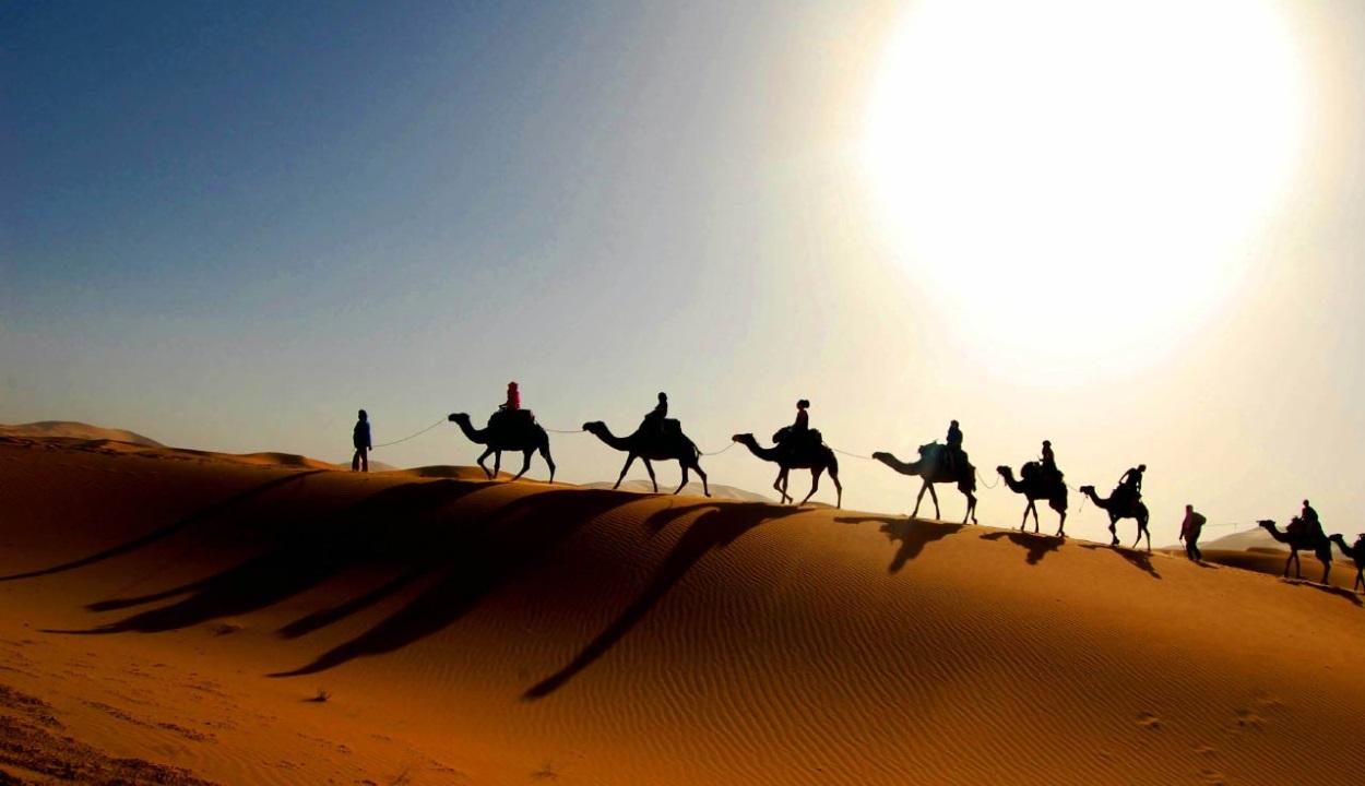 A Szahara 20 ezer évente kizöldül
