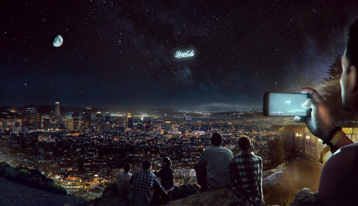 Hamarosan az űr is tele lehet reklámokkal