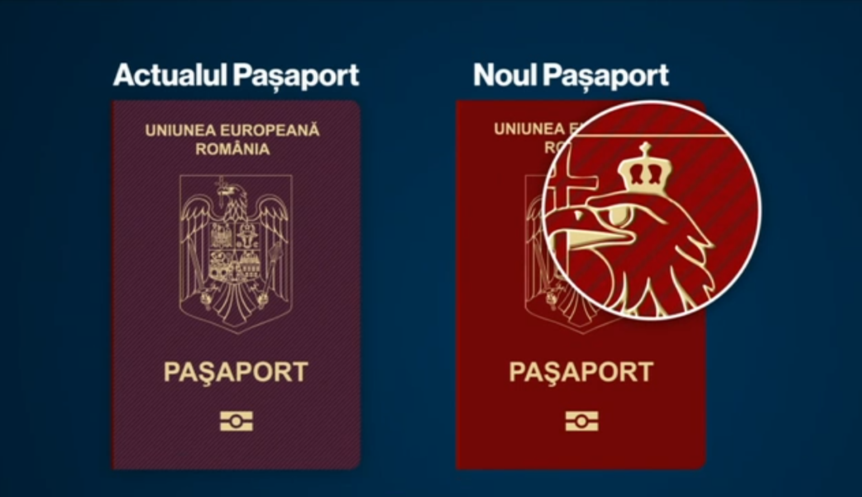 Módosul a román útlevél