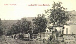 Kovásznai villasor 1908-ból