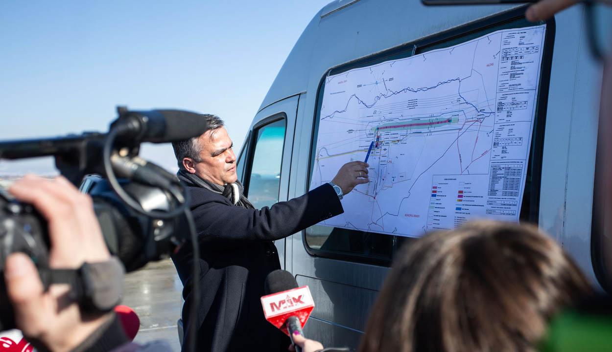 A jövő repülőtere épül Vidombákon