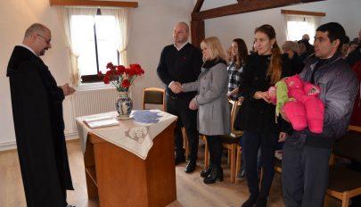 Svájci istentisztelet a református gyülekezetben
