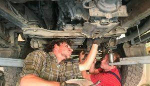 Gyakran kellett azért javítani is az autót