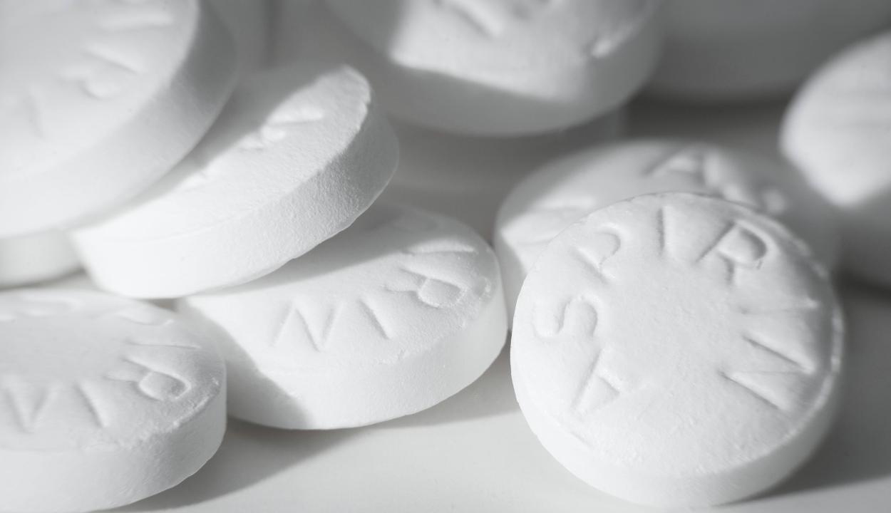 Veszélyes lehet az aszpirin rendszeres szedése