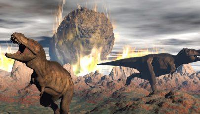 Negyedóra alatt haltak ki a dinoszauruszok