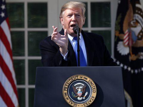 Trump szerint 100 százalékig legyőzték az Iszlám Államot Szíriában