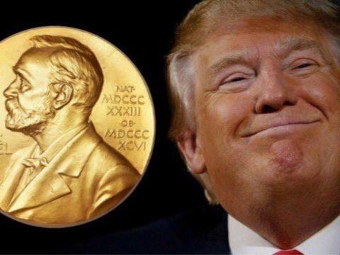 Donald Trump szerint Nobel-békedíjra jelölte őt a japán miniszterelnök