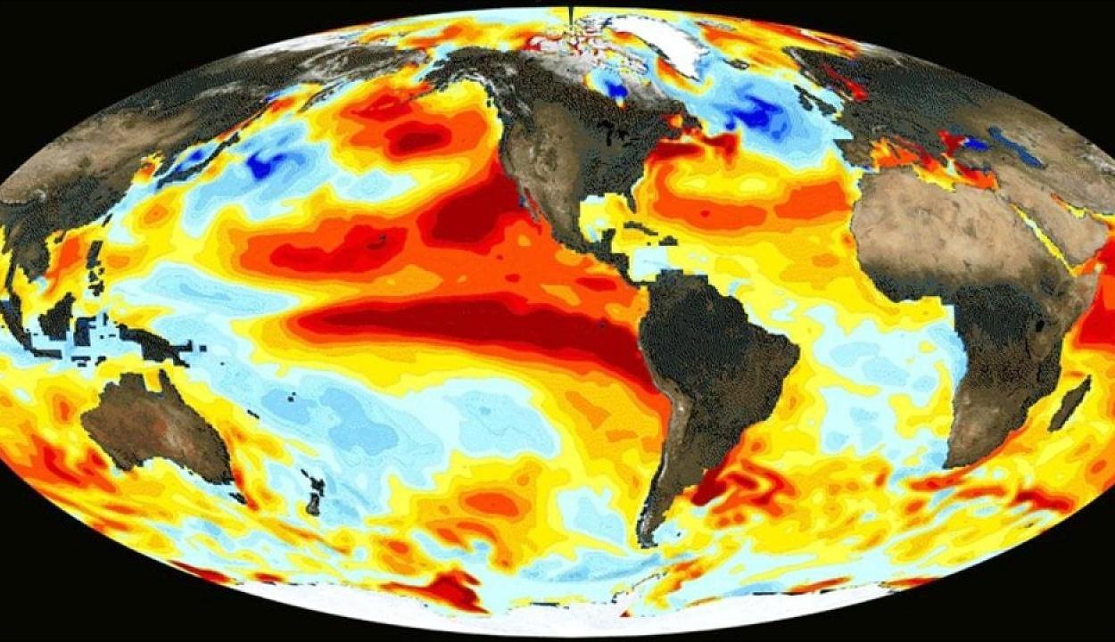 Kialakult az El Nino, amely az egész világ időjárását befolyásolja