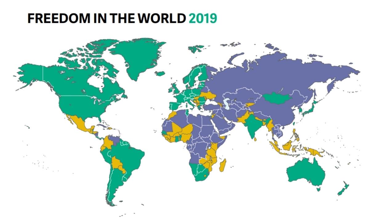 Freedom House: folytatódott tavaly a demokrácia hanyatlása a világban