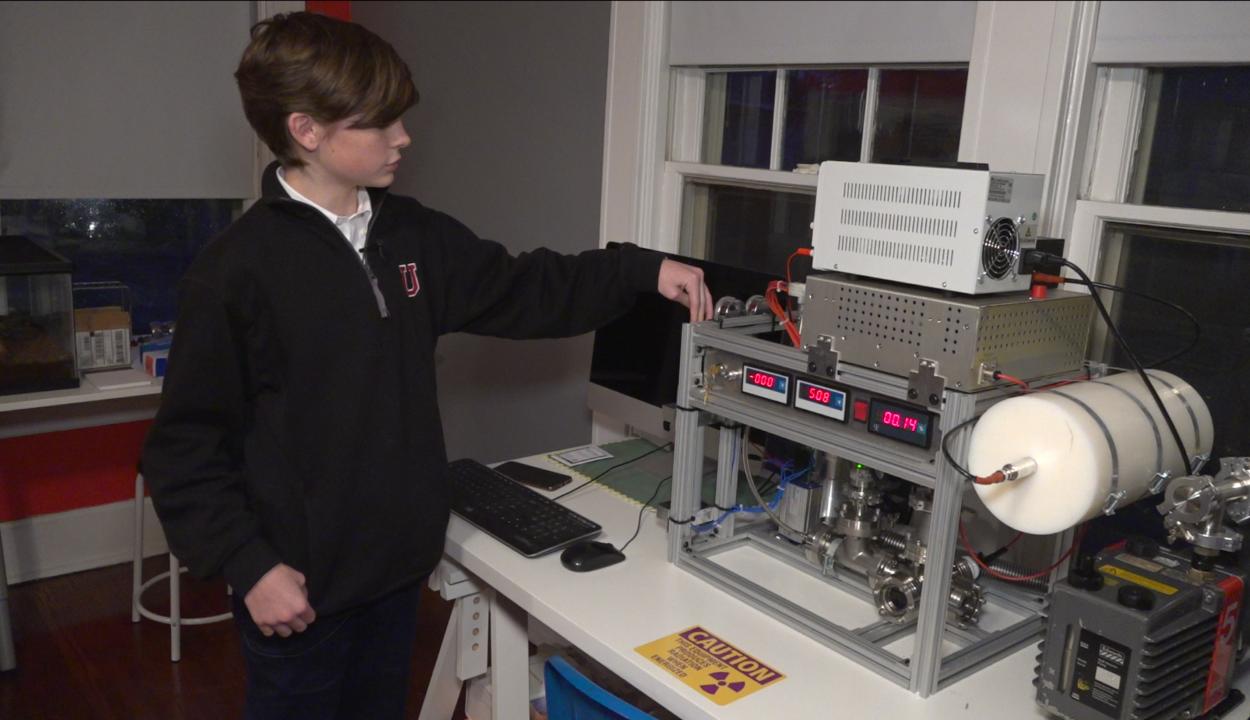 Házi fúziós reaktort épített egy 12 éves amerikai fiú