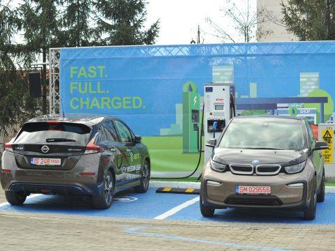 Marosvásárhely és Jászvásár között épít elektromos töltőállomásokat a Mol Románia és az E.ON
