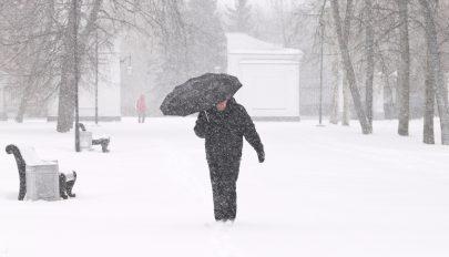 Havazásra, vegyes csapadékra, jegesedésre figyelmeztetnek a meteorológusok