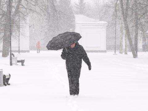 Erős lehűlés, havazás várható a hétvégén